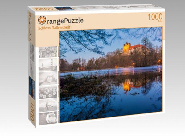 """Puzzle Motiv """"Schloss Ballenstedt"""" - Puzzle-Schachtel zu 1000 Teile Puzzle"""