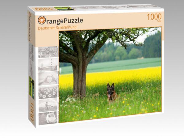 """Puzzle Motiv """"Deutscher Schäferhund"""" - Puzzle-Schachtel zu 1000 Teile Puzzle"""