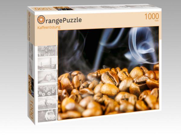 """Puzzle Motiv """"Kaffeeröstung"""" - Puzzle-Schachtel zu 1000 Teile Puzzle"""
