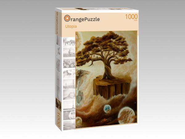 """Puzzle Motiv """"Utopia"""" - Puzzle-Schachtel zu 1000 Teile Puzzle"""