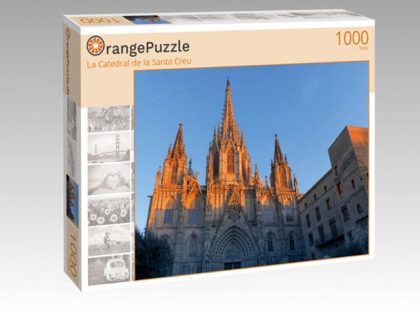 """Puzzle Motiv """"La Catedral de la Santa Creu"""" - Puzzle-Schachtel zu 1000 Teile Puzzle"""