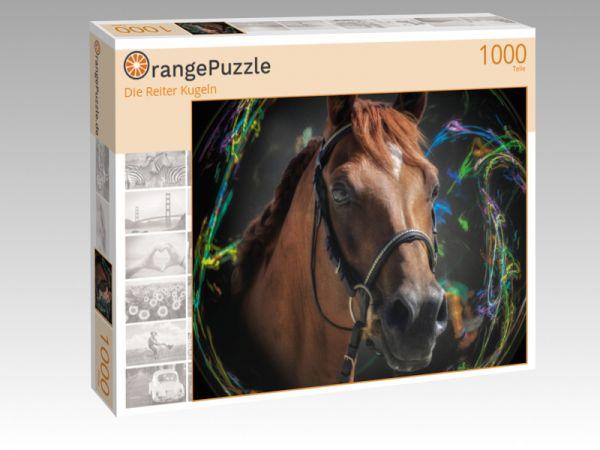 """Puzzle Motiv """"Die Reiter Kugeln"""" - Puzzle-Schachtel zu 1000 Teile Puzzle"""