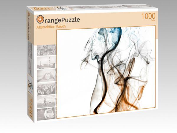 """Puzzle Motiv """"Abstraktion Rauch"""" - Puzzle-Schachtel zu 1000 Teile Puzzle"""
