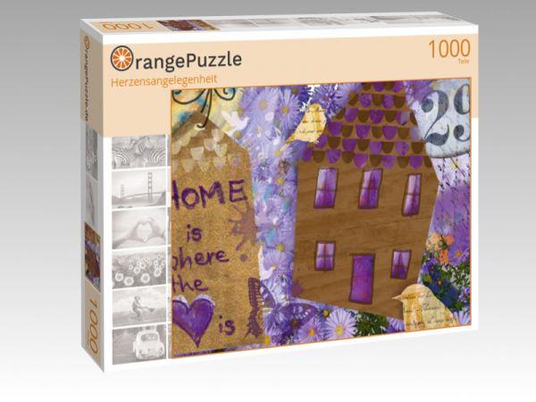 """Puzzle Motiv """"Herzensangelegenheit"""" - Puzzle-Schachtel zu 1000 Teile Puzzle"""