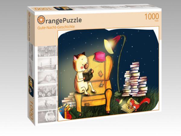 """Puzzle Motiv """"Gute-Nacht-Geschichte"""" - Puzzle-Schachtel zu 1000 Teile Puzzle"""