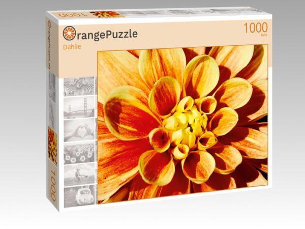 """Puzzle Motiv """"Dahlie"""" - Puzzle-Schachtel zu 1000 Teile Puzzle"""