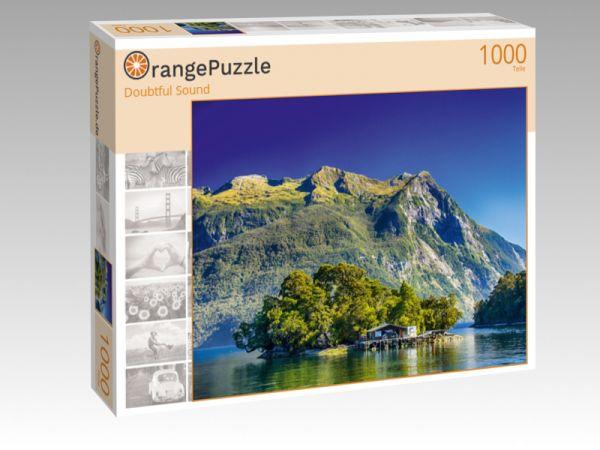 """Puzzle Motiv """"Doubtful Sound"""" - Puzzle-Schachtel zu 1000 Teile Puzzle"""