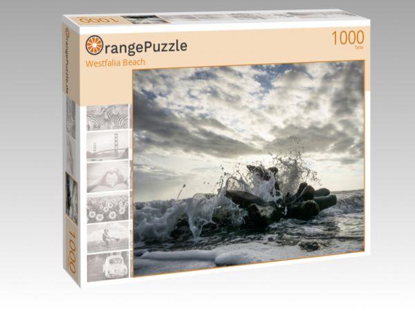 """Puzzle Motiv """"Westfalia Beach"""" - Puzzle-Schachtel zu 1000 Teile Puzzle"""