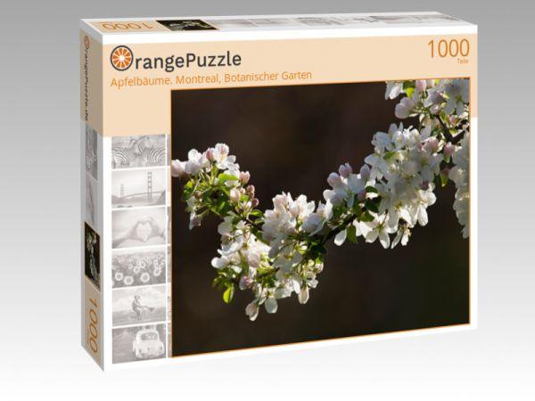 """Puzzle Motiv """"Apfelbäume. Montreal, Botanischer Garten"""" - Puzzle-Schachtel zu 1000 Teile Puzzle"""