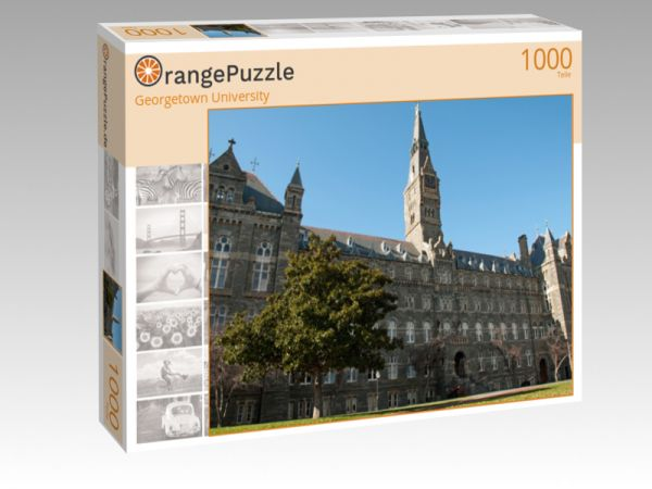 """Puzzle Motiv """"Georgetown University"""" - Puzzle-Schachtel zu 1000 Teile Puzzle"""