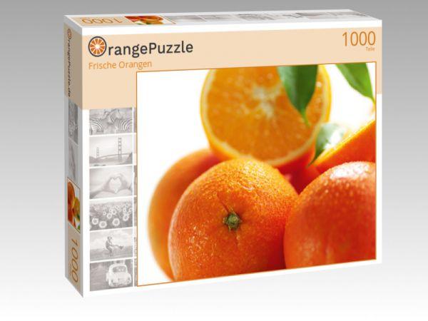 """Puzzle Motiv """"Frische Orangen"""" - Puzzle-Schachtel zu 1000 Teile Puzzle"""