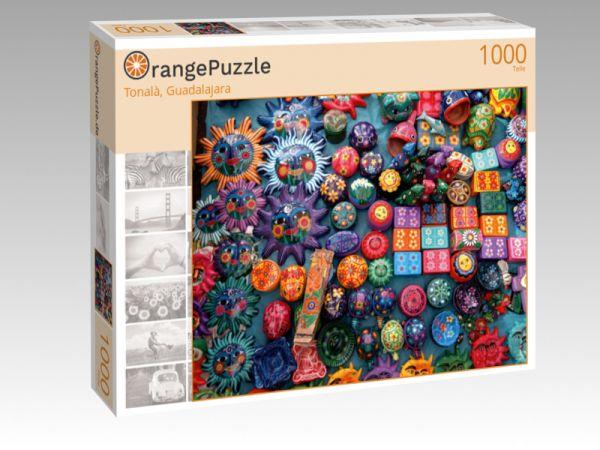 """Puzzle Motiv """"Tonalà, Guadalajara"""" - Puzzle-Schachtel zu 1000 Teile Puzzle"""