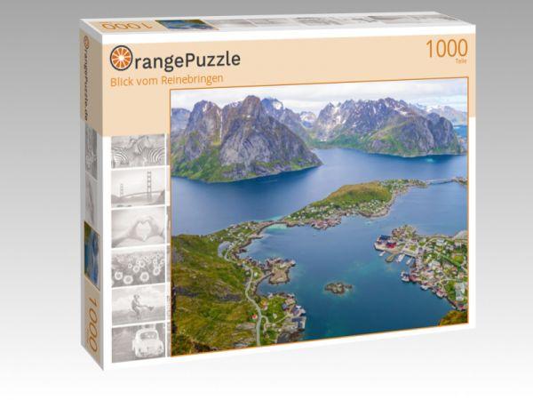 """Puzzle Motiv """"Blick vom Reinebringen"""" - Puzzle-Schachtel zu 1000 Teile Puzzle"""