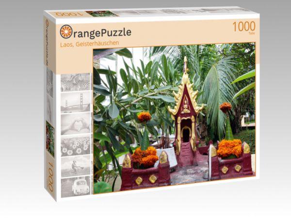 """Puzzle Motiv """"Laos, Geisterhäuschen"""" - Puzzle-Schachtel zu 1000 Teile Puzzle"""