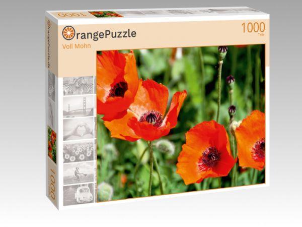 """Puzzle Motiv """"Voll Mohn"""" - Puzzle-Schachtel zu 1000 Teile Puzzle"""
