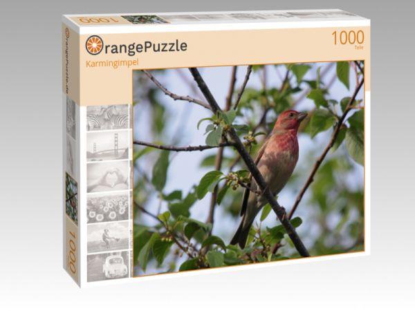 """Puzzle Motiv """"Karmingimpel"""" - Puzzle-Schachtel zu 1000 Teile Puzzle"""