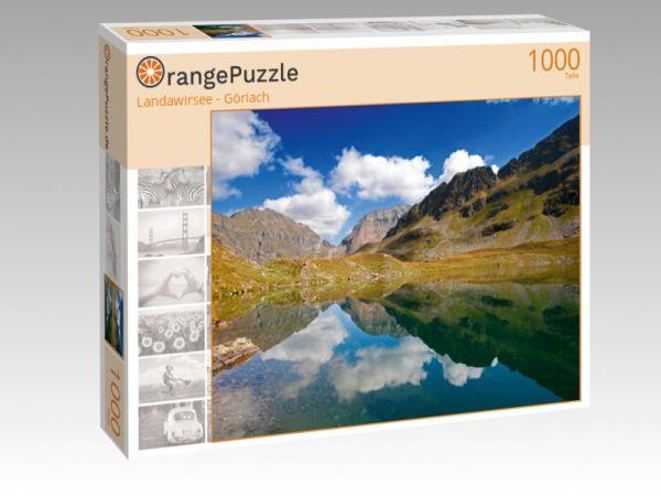 "Puzzle Motiv ""Landawirsee - Göriach"" - Puzzle-Schachtel zu 1000 Teile Puzzle"