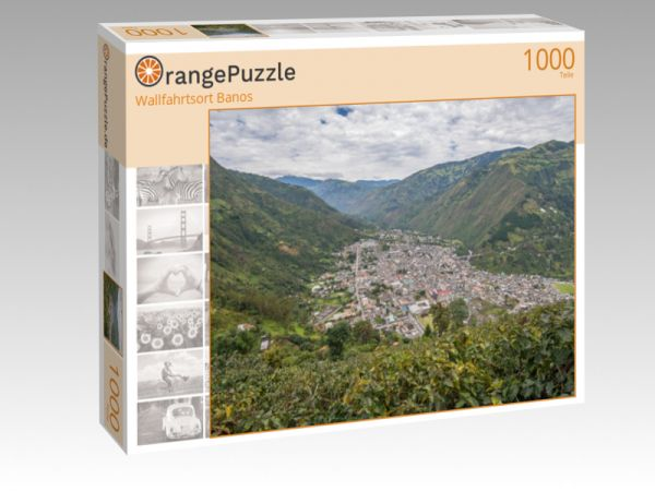 "Puzzle Motiv ""Wallfahrtsort Banos"" - Puzzle-Schachtel zu 1000 Teile Puzzle"