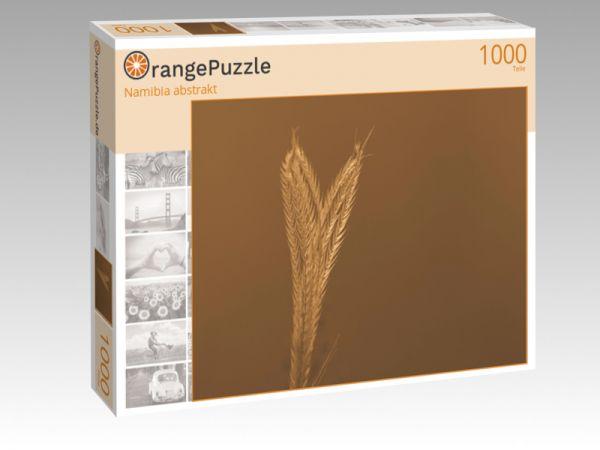 """Puzzle Motiv """"Namibia abstrakt"""" - Puzzle-Schachtel zu 1000 Teile Puzzle"""