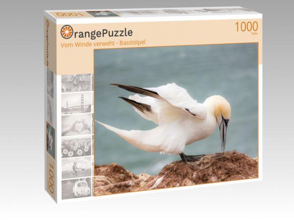 """Puzzle Motiv """"Vom Winde verweht - Basstölpel"""" - Puzzle-Schachtel zu 1000 Teile Puzzle"""