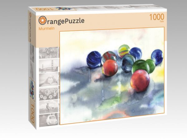 """Puzzle Motiv """"Murmeln"""" - Puzzle-Schachtel zu 1000 Teile Puzzle"""