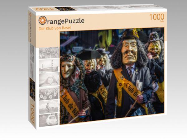 """Puzzle Motiv """"Der Klub von Basel"""" - Puzzle-Schachtel zu 1000 Teile Puzzle"""