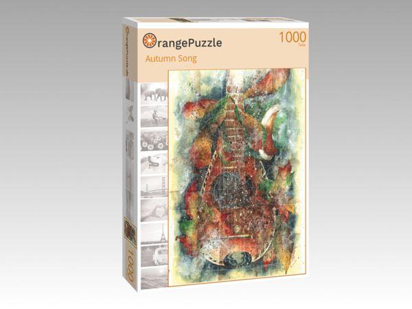 """Puzzle Motiv """"Autumn Song"""" - Puzzle-Schachtel zu 1000 Teile Puzzle"""