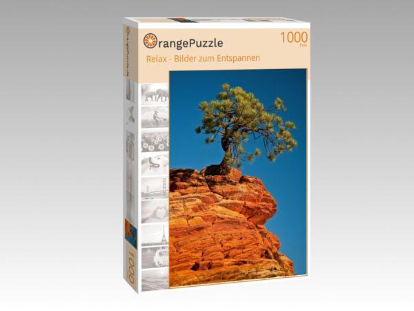 """Puzzle Motiv """"Relax - Bilder zum Entspannen"""" - Puzzle-Schachtel zu 1000 Teile Puzzle"""