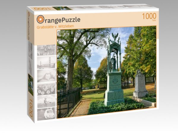 "Puzzle Motiv ""Grabstätte v. Witzleben"" - Puzzle-Schachtel zu 1000 Teile Puzzle"