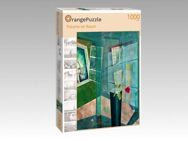 "Puzzle Motiv ""Träume im Raum"" - Puzzle-Schachtel zu 1000 Teile Puzzle"