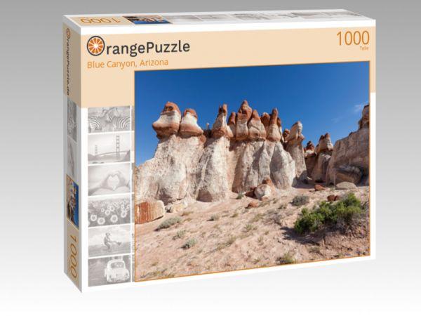 """Puzzle Motiv """"Blue Canyon, Arizona"""" - Puzzle-Schachtel zu 1000 Teile Puzzle"""