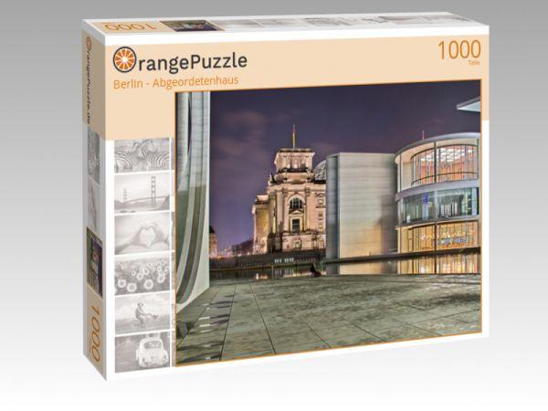 "Puzzle Motiv ""Berlin - Abgeordetenhaus"" - Puzzle-Schachtel zu 1000 Teile Puzzle"
