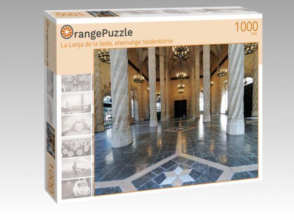 "Puzzle Motiv ""La Lonja de la Seda, ehemalige Seidenbörse"" - Puzzle-Schachtel zu 1000 Teile Puzzle"