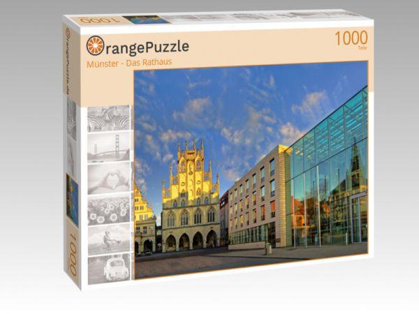 "Puzzle Motiv ""Münster - Das Rathaus"" - Puzzle-Schachtel zu 1000 Teile Puzzle"