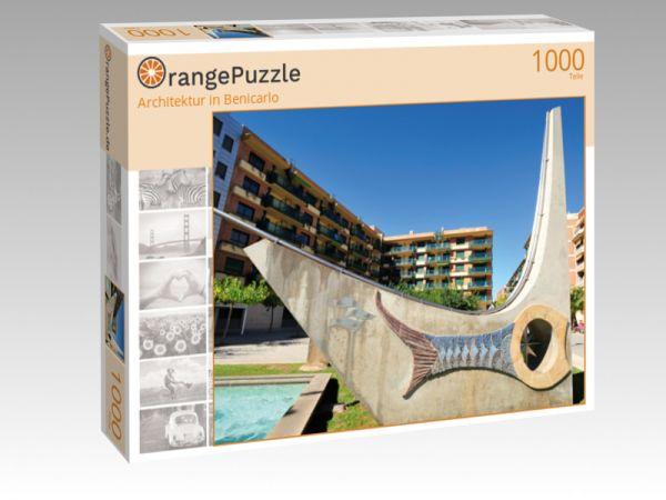 "Puzzle Motiv ""Architektur in Benicarlo"" - Puzzle-Schachtel zu 1000 Teile Puzzle"