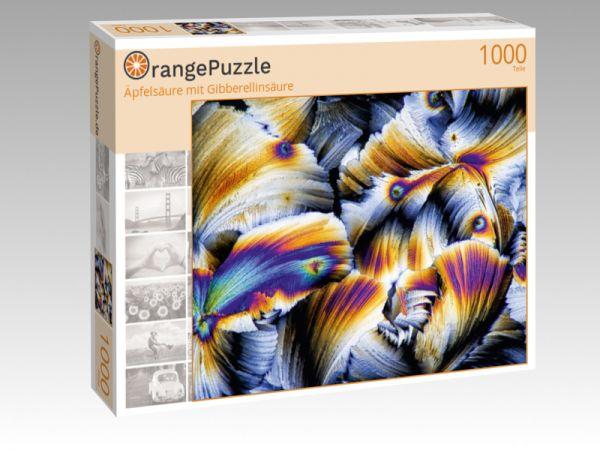 "Puzzle Motiv ""Äpfelsäure mit Gibberellinsäure"" - Puzzle-Schachtel zu 1000 Teile Puzzle"