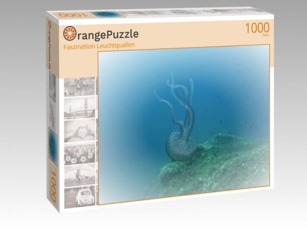 "Puzzle Motiv ""Faszination Leuchtquallen"" - Puzzle-Schachtel zu 1000 Teile Puzzle"