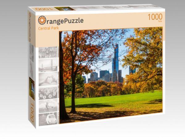 """Puzzle Motiv """"Central Park"""" - Puzzle-Schachtel zu 1000 Teile Puzzle"""