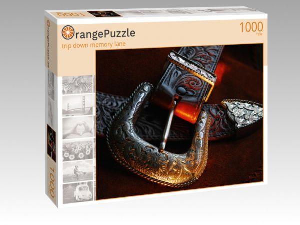 """Puzzle Motiv """"trip down memory lane"""" - Puzzle-Schachtel zu 1000 Teile Puzzle"""