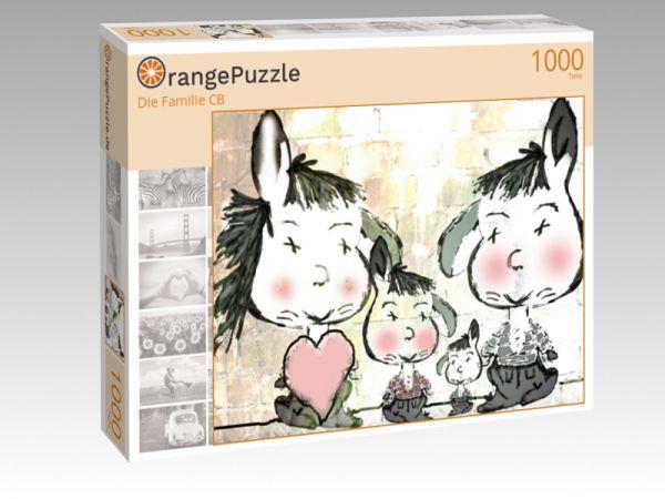 """Puzzle Motiv """"Die Familie CB"""" - Puzzle-Schachtel zu 1000 Teile Puzzle"""