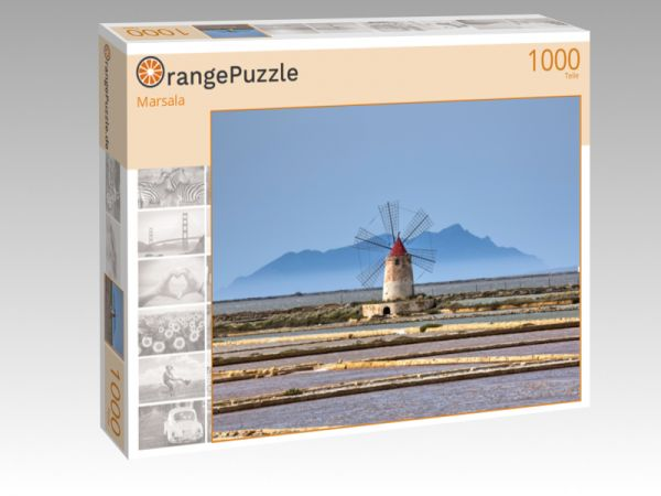 """Puzzle Motiv """"Marsala"""" - Puzzle-Schachtel zu 1000 Teile Puzzle"""