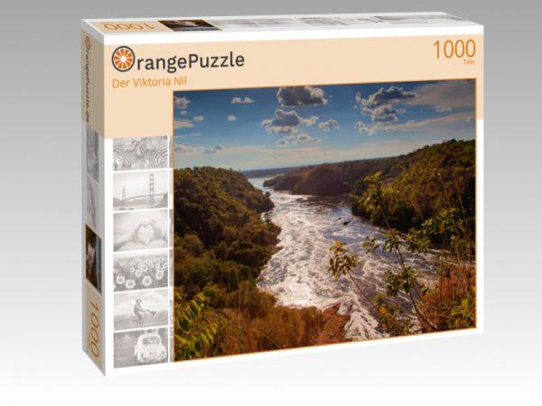 """Puzzle Motiv """"Der Viktoria Nil"""" - Puzzle-Schachtel zu 1000 Teile Puzzle"""