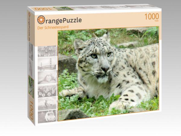 """Puzzle Motiv """"Der Schneeleopard"""" - Puzzle-Schachtel zu 1000 Teile Puzzle"""