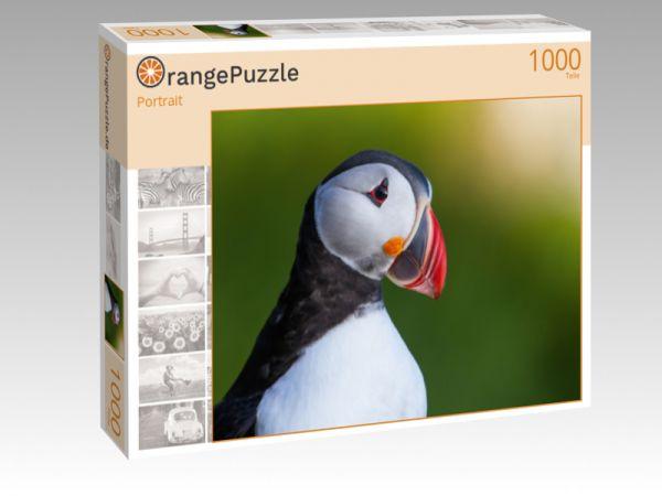 """Puzzle Motiv """"Portrait"""" - Puzzle-Schachtel zu 1000 Teile Puzzle"""
