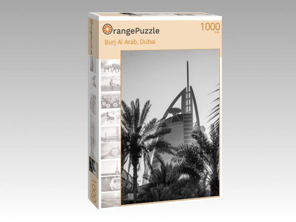 """Puzzle Motiv """"Burj Al Arab, Dubai"""" - Puzzle-Schachtel zu 1000 Teile Puzzle"""