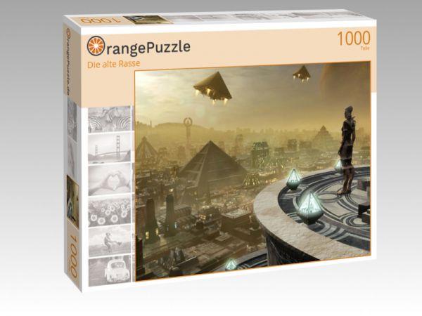 """Puzzle Motiv """"Die alte Rasse"""" - Puzzle-Schachtel zu 1000 Teile Puzzle"""