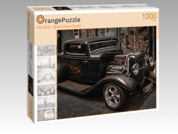 """Puzzle Motiv """"Hot Rod - Motorshow Essen"""" - Puzzle-Schachtel zu 1000 Teile Puzzle"""