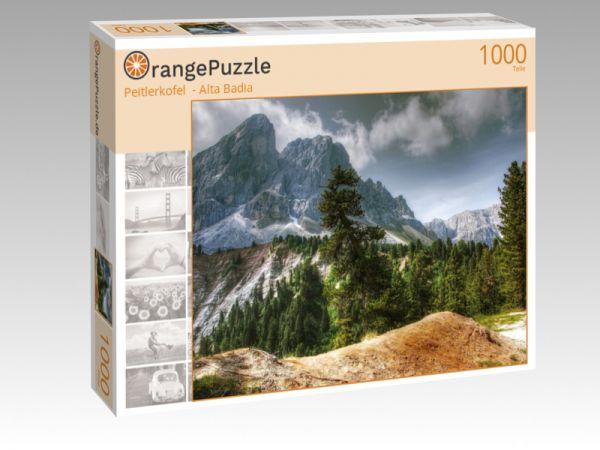 "Puzzle Motiv ""Peitlerkofel  - Alta Badia"" - Puzzle-Schachtel zu 1000 Teile Puzzle"