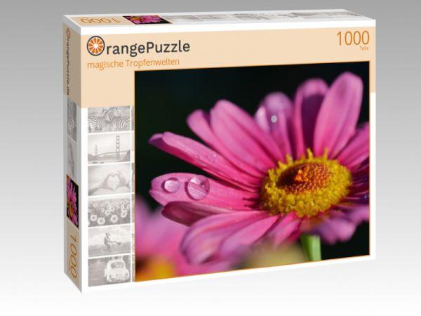 """Puzzle Motiv """"magische Tropfenwelten"""" - Puzzle-Schachtel zu 1000 Teile Puzzle"""