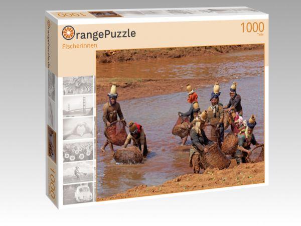 """Puzzle Motiv """"Fischerinnen"""" - Puzzle-Schachtel zu 1000 Teile Puzzle"""